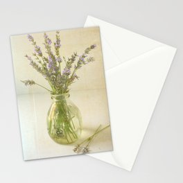 Lavender and Milk Stationery Cards