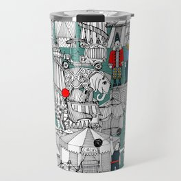 retro circus Travel Mug
