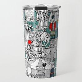 retro circus Travel Mug