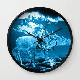 Big Deer Wall Clock