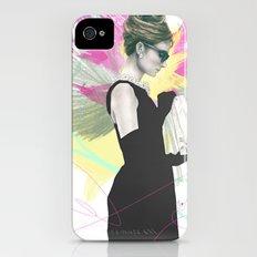 Breakfast at Tiffany's Fashion Illustration Slim Case iPhone (4, 4s)