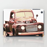 truck iPad Cases featuring Old Truck by Regan's World
