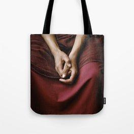 Calm Monk Tote Bag