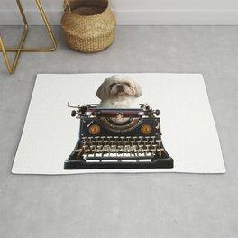 Top Model Paul Shih tzu Dog - Author Rug