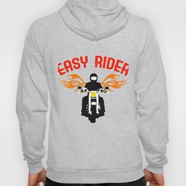 """Easy Rider"" tee design for both cars and motorcycle riders out there! Makes a nice gift too!  Hoody"