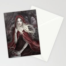 Red Riding Hood (Chaperon Rouge) Stationery Cards
