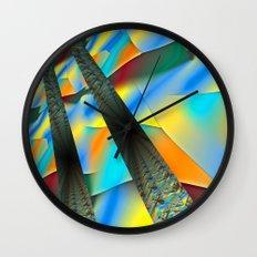 Sky Transit Wall Clock