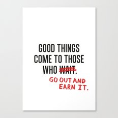 Good Things (Clean version) Canvas Print