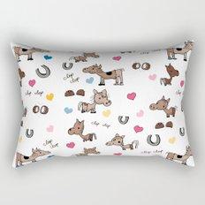 Clip Clop Rectangular Pillow
