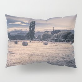 Field Of Hay Bales Pillow Sham
