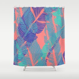 Carved Fluo Jungle #society6 #decor #buyart Shower Curtain