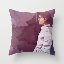 Who's afraid of the big, bad Wolf? Throw Pillow