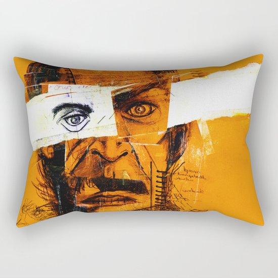 Burning Man Rectangular Pillow
