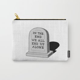 depressing song lyrics Carry-All Pouch