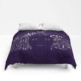 Purple Night Comforters