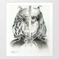 marine Art Prints featuring Marine by Inspirations