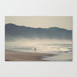 Fisherman at Cape Vidal Canvas Print