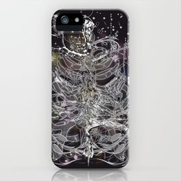 Skeleton of a human thorax II iPhone Case