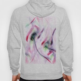 Candy Cane Abstract Hoody