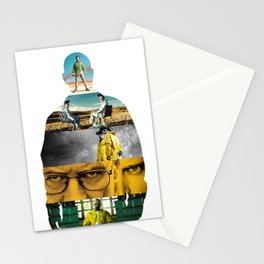 Heisenberg Silhouette Stationery Cards