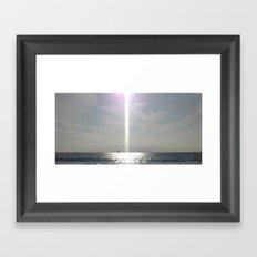 Ship O' Light Framed Art Print