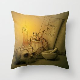 Potion Throw Pillow