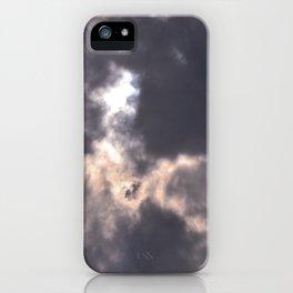 tie dye sky iPhone Case