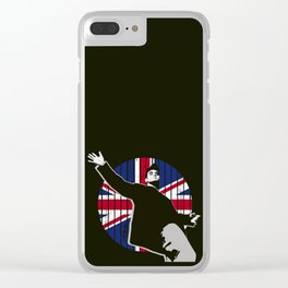 M0RR1SS3Y (UK Version) Clear iPhone Case