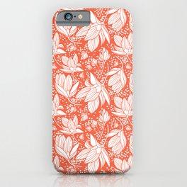 Magnolia Shower iPhone Case