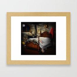 A fairytale before sleep Framed Art Print