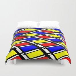 Curved Modern Art Pattern Duvet Cover