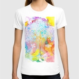 Tree of life painting T-shirt