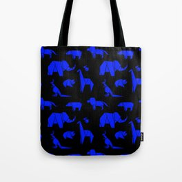 The Animals Come Marching One by One Tote Bag