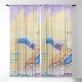 Fun Stroll   Balade de plaisir Sheer Curtain