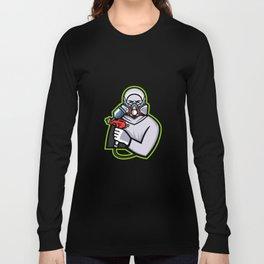 Industrial Spray Painter Mascot Long Sleeve T-shirt