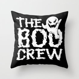Halloween Ghost The Boo Crew Throw Pillow