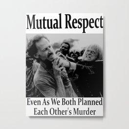 Werner Herzog and Klaus Kinski's Mutual Respect Metal Print