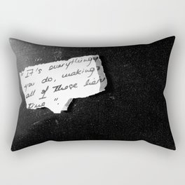 Starred Rectangular Pillow