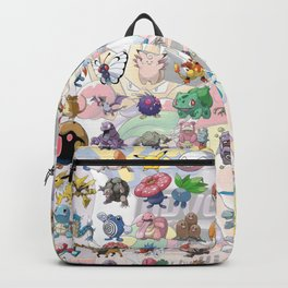 Pocket Monsters Backpack