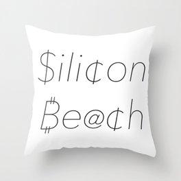 Silicon Beach Money D Throw Pillow