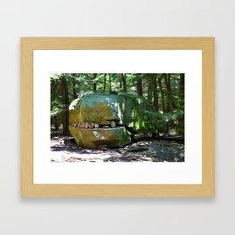Alligator Rock 2 Framed Art Print