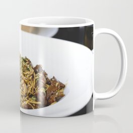 Oyster sauce noodles with beef Coffee Mug