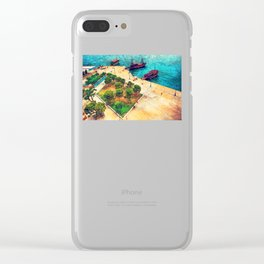 Thessaloniki 5 Clear iPhone Case