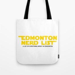 Edmonton Nerd List - From a Galaxy Far Far Away (solid on light) Tote Bag