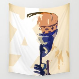 Jazz Poster Wall Tapestry
