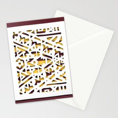 Aztec Pattern Papercut Stationery Cards