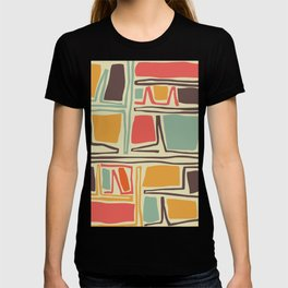 Whimsical abstract pattern design T-shirt