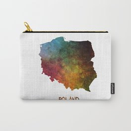 Poland map Carry-All Pouch