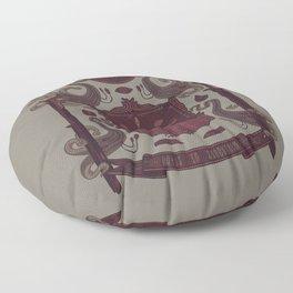 Born in Blood Floor Pillow