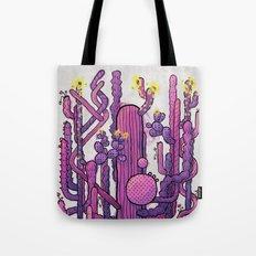 Cactus Playground Tote Bag